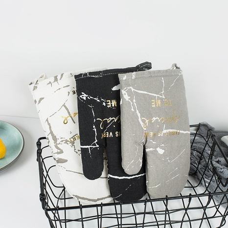 Mode Marmor Serie Druck Baumwolle Isolationshandschuhe Großhandel Nihaojewelry NHQMH426172's discount tags