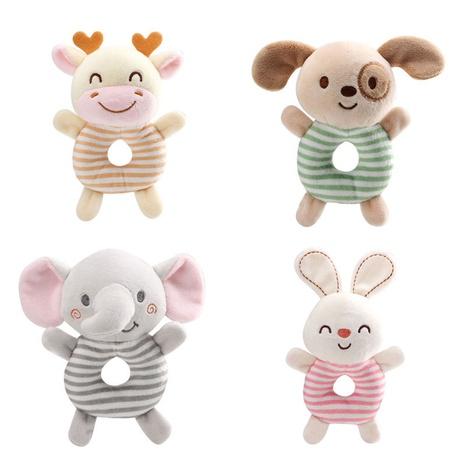 sonajero en forma de O de bebé con manivela redonda de dibujos animados al por mayor Nihaojewelry NHBEI427499's discount tags