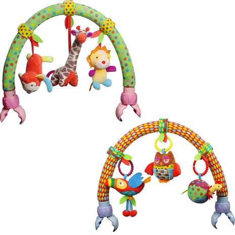 Cartoon Giraffe Spielzeug Anhänger Kinderwagen Bettglocke Großhandel Nihaojewelry NHBEI427511's discount tags
