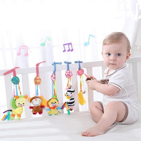 anillo de goma sonajero 0-1 año de edad cochecito de bebé colgante juguete al por mayor Nihaojewelry NHBEI427529's discount tags