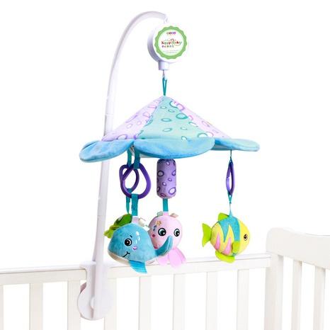 dibujos animados animal giratorio música cabecera colgante juguete campana de cama de bebé venta al por mayor nihaojewelry NHBEI427546's discount tags