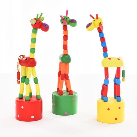 pädagogisches Spielzeug der hölzernen Kindergiraffe Großhandel Nihaojewelry NHSCA427636's discount tags
