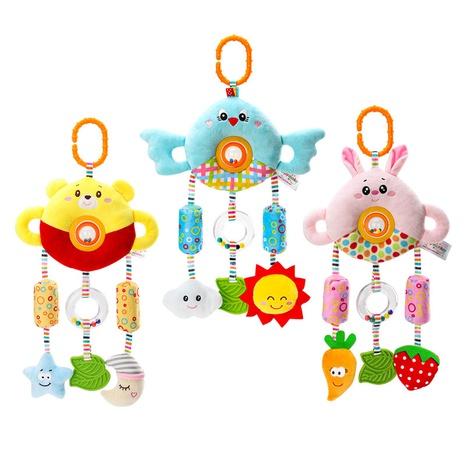 dibujos animados 0-3 años bebé carillones de viento muñeco de peluche juguete al por mayor Nihaojewelry NHBEI427736's discount tags
