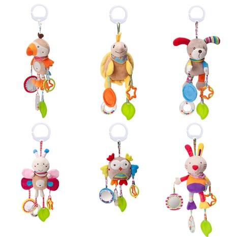 Cartoon Tier Baby Spielzeug Plüschbett hängen Großhandel Nihaojewelry NHBEI427739's discount tags