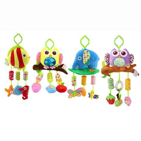 Baby Drehmaschine Schlüsselband Rassel Glocke Plüschtier Großhandel Nihaojewelry NHBEI427745's discount tags