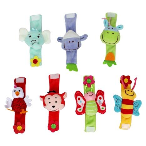Cartoon Tierform Handgelenk Rassel Babyspielzeug Großhandel Nihaojewelry NHBEI427747's discount tags