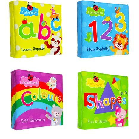 juguete de libro de tela tridimensional de color animal de dibujos animados al por mayor Nihaojewelry NHBEI427748's discount tags