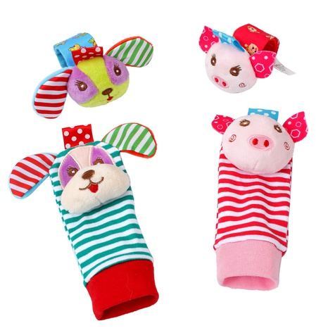 dibujos animados animal forma bebé muñeca campana sonajero al por mayor Nihaojewelry NHBEI427506's discount tags