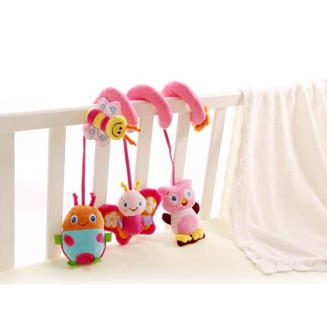 cama de abeja rosa de dibujos animados envuelto sonajeros al por mayor Nihaojewelry NHBEI427507's discount tags