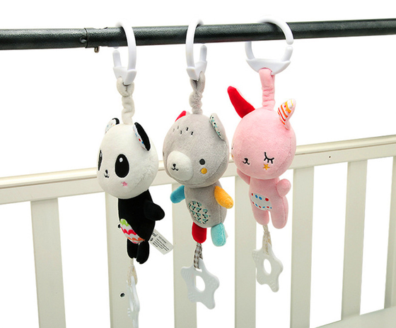 Bebé juguete cama colgante mordedor sonajero al por mayor Nihaojewelry NHBEI427516's discount tags