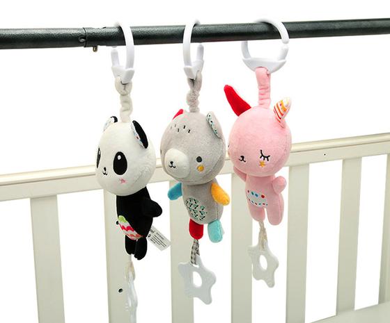 Baby Spielzeug Bett hängende Beißring Rassel Großhandel Nihaojewelry NHBEI427516's discount tags