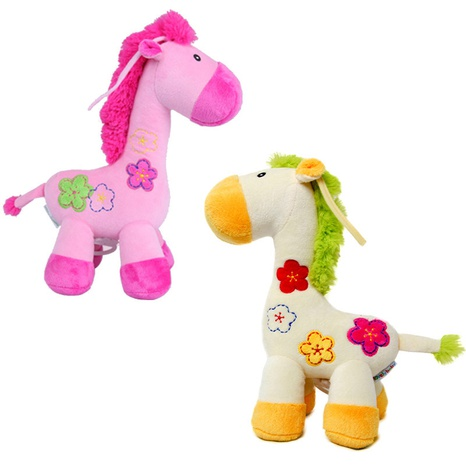 neue Pflaumenblüten Giraffe ziehen Glockenmusik hängende Baby beruhigende Puppe Großhandel nihaojewelry NHBEI427515's discount tags