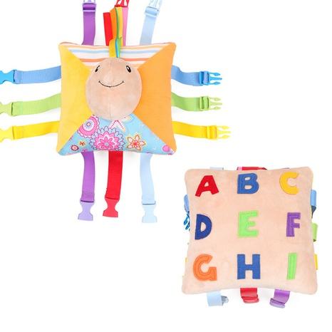 dibujos animados lindo hebilla a juego infantil educación temprana cognitiva animal de peluche de juguete al por mayor nihaojewelry NHBEI427513's discount tags