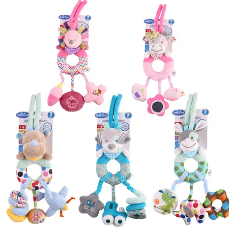 Plüschtier Puppe Spielzeug Anhänger Kinderwagen Rassel Babybett hängen Großhandel nihaojewelry NHBEI427500's discount tags