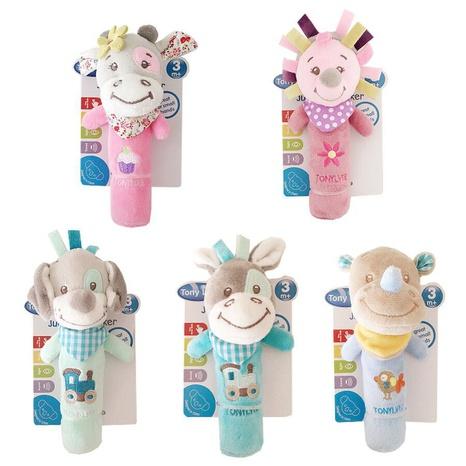 niedliche Tierrassel Baby Plüsch interaktives Spielzeug Großhandel Nihaojewelry NHBEI427501's discount tags