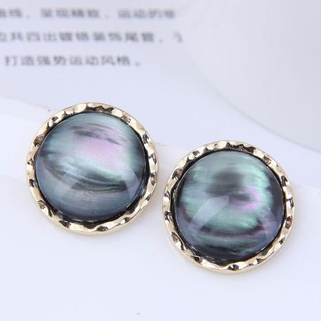 Pendientes redondos de estilo coreano al por mayor Nihaojewelry NHSC430164's discount tags