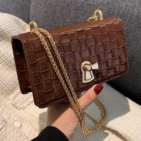 rhombus chain shoulder messenger small square bag wholesale nihaojewelry NHLH427912's discount tags
