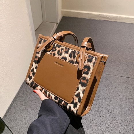 fashion printed leopard high capacity handbags wholesale Nihaojewelry NHLH427953's discount tags