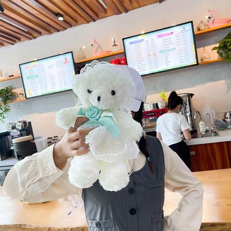 cute cartoon bear doll shape messenger bag wholesale nihaojewelry  NHGN428137's discount tags