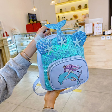 Sequin children's backpack wholesale Nihaojewelry NHTG428280's discount tags