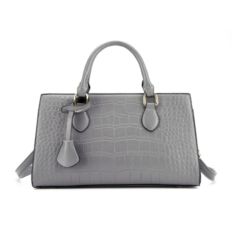 fashion new solid color stone pattern single-shoulder messenger bag wholesale nihaojewelry NHAV428358's discount tags