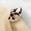 fashion letter longsleeved leopard print Aline skirt wholesale nihaojewelry NHSSF428670