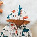 cartoon baby hooded longsleeved zipper shirt wholesale nihaojewelry NHSSF428724