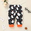 Halloween Costume Cartoon Printing Baby Long Sleeve Romper Two Piece Set Wholesale Nihaojewelry NHSSF429345