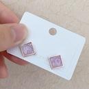 retro simple korean geometric color glossy earrings wholesale nihaojewelry NHBP416226