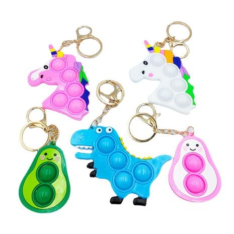 mini juguete de descompresión de silicona animal llavero al por mayor Nihaojewelry NHDI429704's discount tags