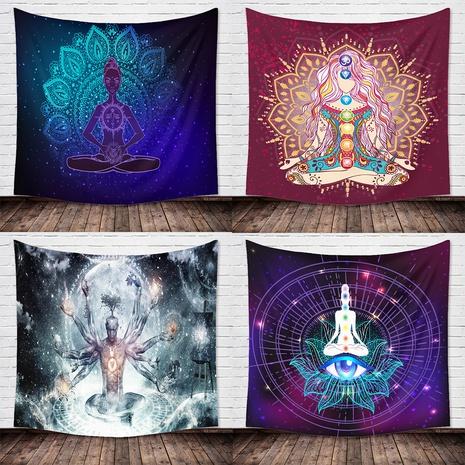India Buddha Yoga printing hanging cloth tapestry wholesale Nihaojewelry  NHZAJ429928's discount tags