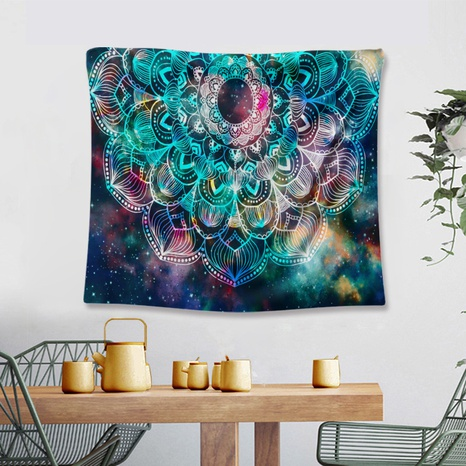 retro cosmic pattern tapestry background wall decoration wholesale Nihaojewelry NHZAJ429940's discount tags