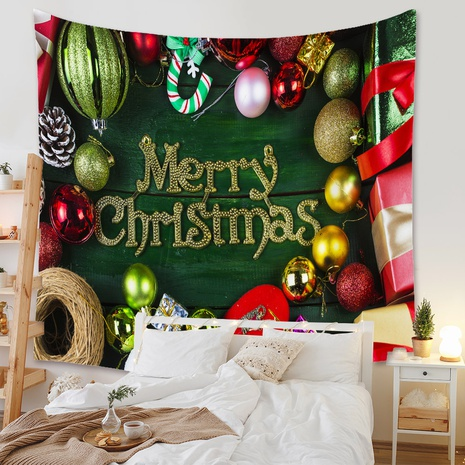 fashion Christmas tapestry background wall decoration wholesale Nihaojewelry NHZAJ429942's discount tags