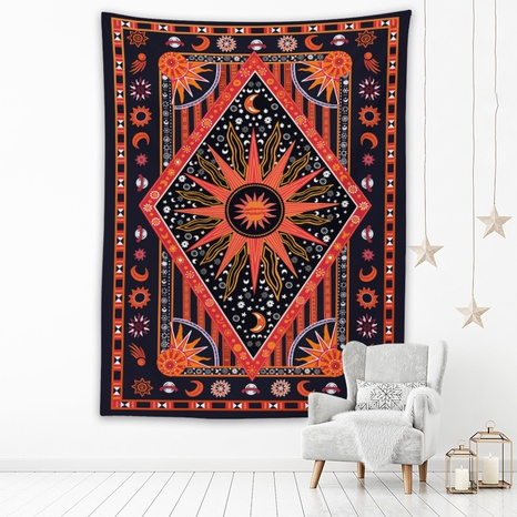 Bohemia series contrast color printing home hanging painting wholesale Nihaojewelry  NHZAJ429945's discount tags