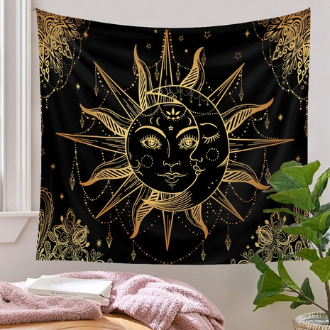 Bohemian Colorful Sun Moon printing Room Decoration Wall Cloth Wholesale Nihaojewelry  NHQYE430100's discount tags