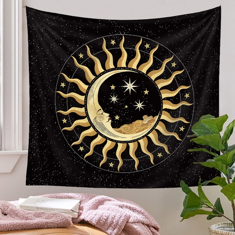 bohemian sun star tapestry background wall decoration wholesale Nihaojewelry NHQYE430112's discount tags