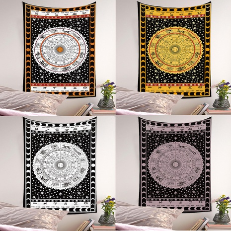 Bohemian tarot card printing background wall cloth wholesale Nihaojewelry  NHQYE430113's discount tags