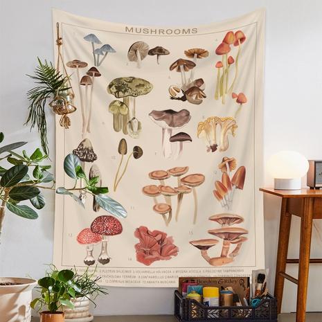 fashion colorful mushroom printing room decoration wall cloth wholesale Nihaojewelry  NHQYE430123's discount tags