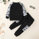 Korean style letter printing childrens sweater pants suit wholesale Nihaojewelry  NHSSF430211