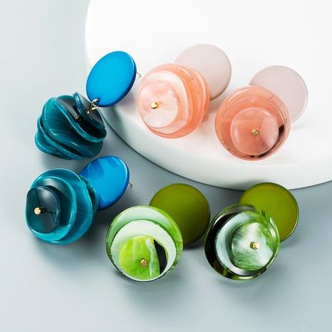 Pendientes de borla de disco multicapa de estilo bohemio al por mayor nihaojewelry NHLN430278's discount tags