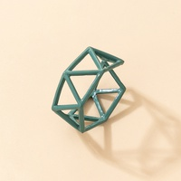 new creative geometric hollow open ring wholesale Nihaojewelry  NHGY431569