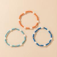 new bohemian style multicolor beads bracelet three-piece wholesale Nihaojewelry  NHGY431562