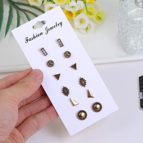Mode Dreieck geometrische Kombination Set Ohrringe Großhandel Nihaojewelry NHSD431331's discount tags