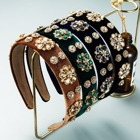 bandeau à fleurs rétro edelweiss en gros Nihaojewelry NHLN431601's discount tags