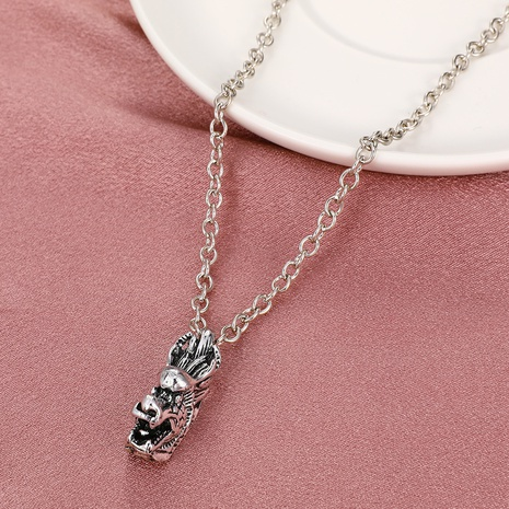 Retro hohle Kette Drachen Sternzeichen Halskette Großhandel nihaojewelry NHDP431677's discount tags