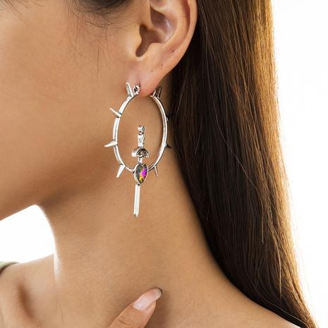 Mode Laser herzförmige Ohrringe Großhandel Nihaojewelry NHXR431740's discount tags