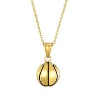fashion stainless steel basketball pendant wholesale Nihaojewelry NHLIZ431370
