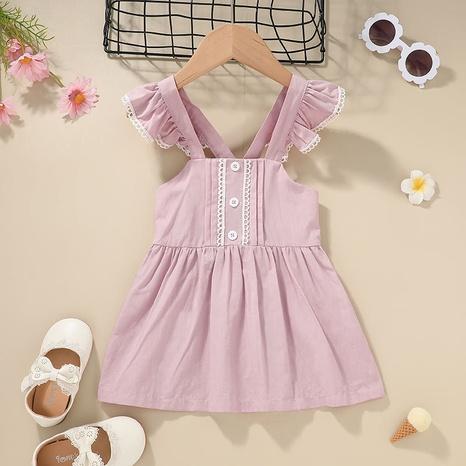 Mode Kinder Hosenträgerkleid Großhandel Nihaojewelry NHLF432251's discount tags