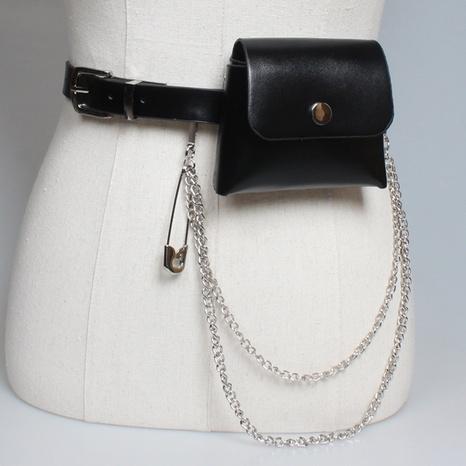 new fashion chain mini pin waist bag wholesale Nihaojewelry  NHJSR432651's discount tags