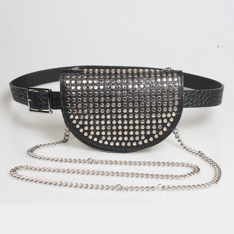 Mode Nietkette dekorative Handy Gürteltasche Großhandel Nihaojewelry NHJSR432689's discount tags
